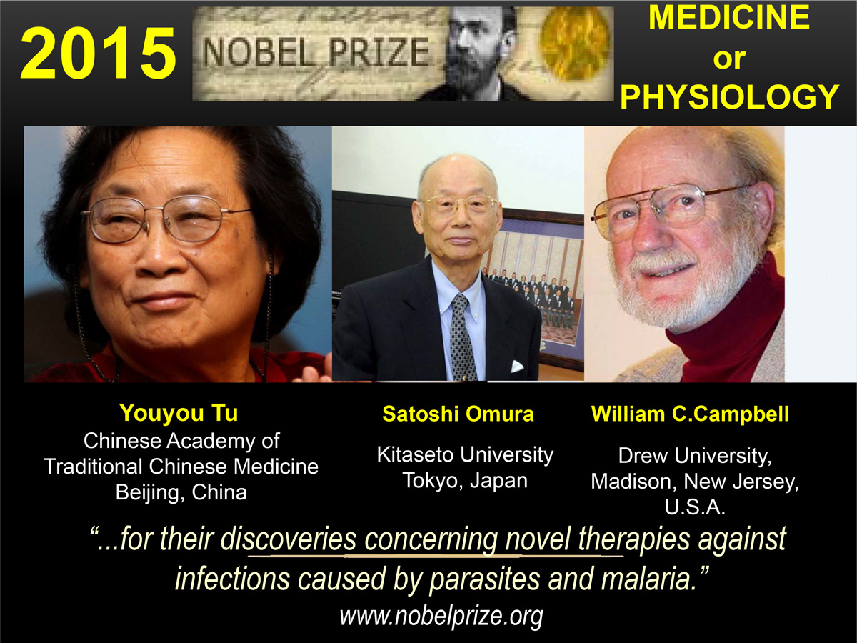 2015 nobel prize medicine or physiology